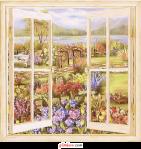 ventana con paisaje