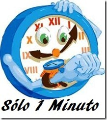 Sólo 1 minuto