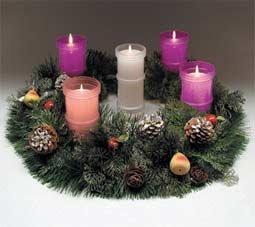 Significados de las velas que ponemos en tiempo de - Como decorar la corona de adviento ...