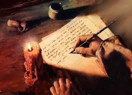 jesus escribiendo