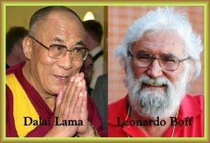 dalai lama y leonardo boff