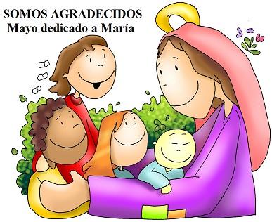 Agradecidos por ser la madre de Jesús